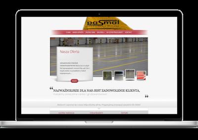 Strona WWW firmy Pasmal