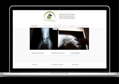 Strona WWW przychodni Vet-Medica Leszno
