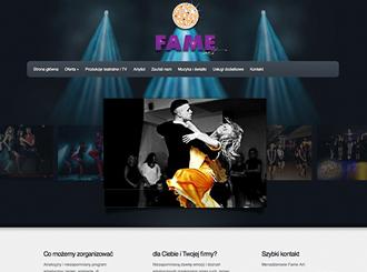 Strona WWW grupy Fame-Art